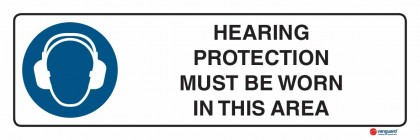 2309 Hearing Protection Must Be Worn In This Area