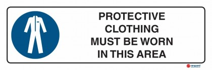 2310 Protective Clothing Must Be Worn In This Area