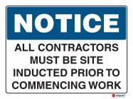 5000 All Contractors Must Be Site Inducted Prior To Commencing Work