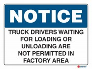 5026 Truck Drivers Waiting For Loading or Unloading