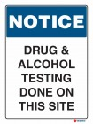 5105 Drug Alcohol Testing Done On This Site