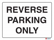 5207 Reverse Parking Only