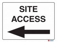 5209 Site Access Left Arrow