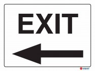5221 Exit Left Arrow