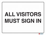5223 All Visitors Must Sign In