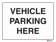 5230 Vehicle Parking Here