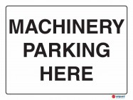 5231 Machinery Parking Here