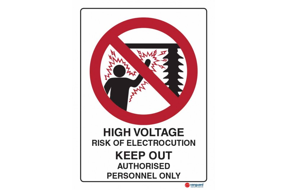 3017 High Voltage Risk Of Electrocution