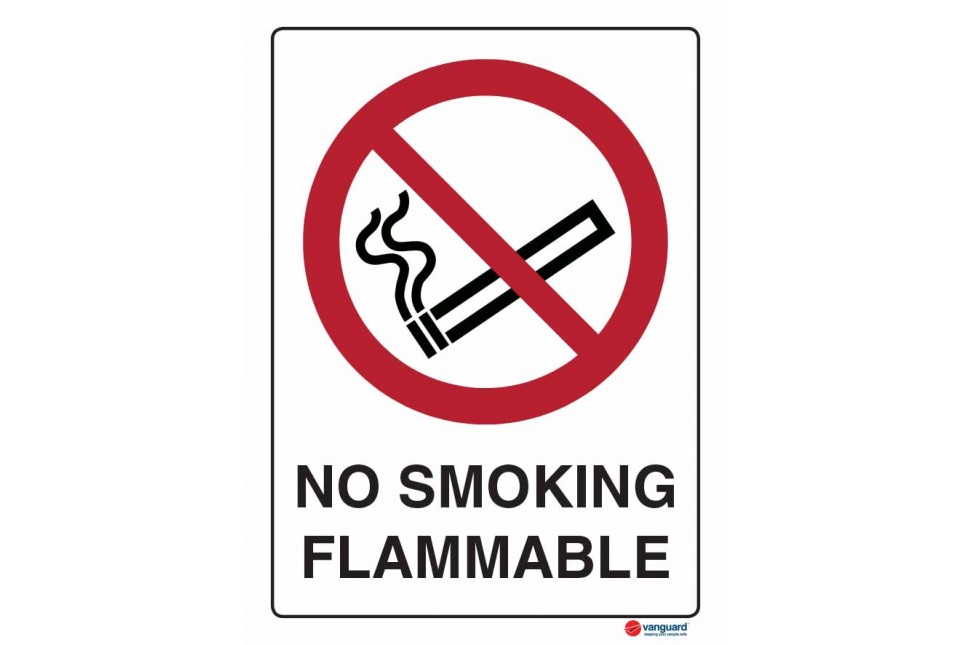 3049 No Smoking Flammable