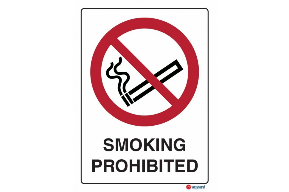 3063 Smoking Prohibited