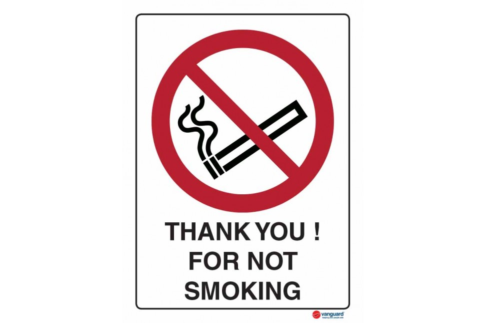 3065 Thank You For Not Smoking