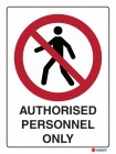 3001 Authorised Personnel Only