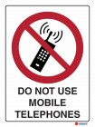 3008 Do Not Use Mobile Telephones