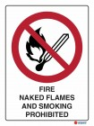 3012 Fire Naked Flames And Smoking Prohibited