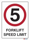 3015 Forklift Speed Limit