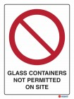 3016 Glass Containers Not Permitted On Site