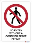 3028 No Entry Without A Confined Space Permit