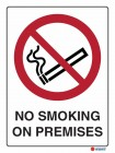 3052 No Smoking On These Premises