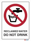 3060 Reclaimed Water Do Not Drink