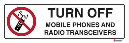 3302 Turn Off Mobile Phones And Radio Transceivers