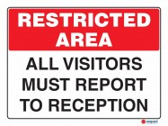 4900 All Visitors Must Report To Reception