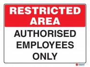 4905 Authorised Employees Only
