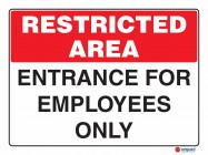 4908 Entrance For Employees Only