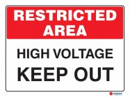 4911 High Voltage Keep Out