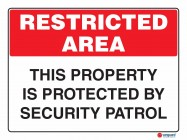 4926 This Property Is Protected By Security Patrol