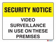 5403 Video Surveillance In Use On These Premises