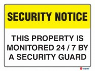5404 This Property Is Monitored 247 By A Security Guard