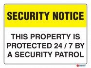 5405 This Property Is Protected 247 By A Security Patrol