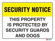 5408 This Property Is Protected By Security Guards And Dogs