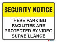 5409 These Parking Facilities Are Protected By Video Surveillance