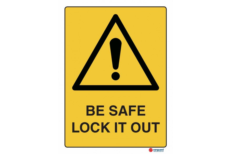 4008 Be Safe Lock It Out