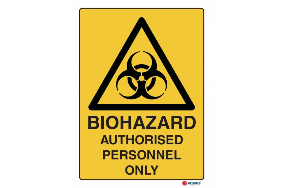 4015 Biohazard Authorised Personnel Only