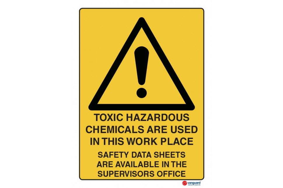 4081 Toxic Hazardous Chemicals Are Used In This Workplace