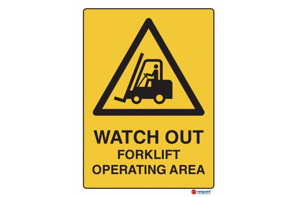 4086 Watch Out Forklift Operating Area