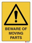 4011 Beware Of Moving Parts