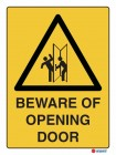 4012 Beware Of Opening Door