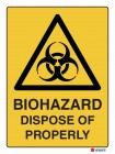 4016 Biohazard Dispose Of Properly