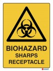 4017 Biohazard Sharps Receptacle
