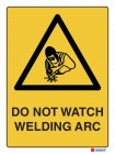 4031 Do Not Watch Welding Arc