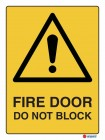 4032 Fire Door Do Not Block