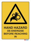 4035 Hand Hazard De Energise Before Reaching In