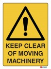 4040 Keep Clear of Moving Machinery