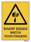4070 Sharp Edges Watch Your Fingers