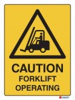 4093 Caution Forklift Operating