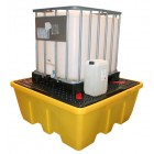 rsz ibc spillpallet single stackable