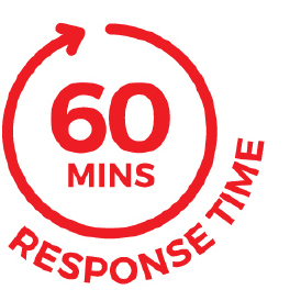 60 minute responce time2
